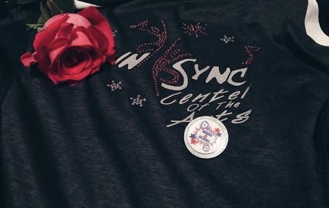 A jacket with InSync Center of the Arts logo taken on June 17, 2018 after the