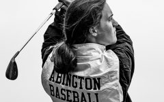 Abington High School senior John Mueller is a member of two sports teams at the high school: golf and baseball. His season was cut short due to the Covid-19 pandemic.