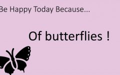Be Happy Today Because…