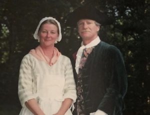 The Bay Colony Educators, Tim Greene and Carol Neville, have been giving colonial presentations to Abington's fifth graders for thirty years. The pair recently announced their retirement.