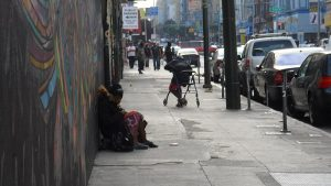 Although people might picture homelessness as this person in San Francisco on September 23, 2012, there are far more faces of homelessness that people do not see.