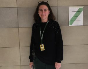 Mrs. Jessee Clements, the new AP at Abington High School, is one of the friendly faces AHS students can expect to see at lunch time during the 2020-2021 school year.