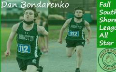 Sophomore Dan Bondarenko was named as a South Shore League All Star for the 2020 Boys Cross Country Team.