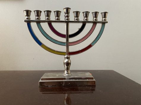This menorah, used to celebrate a tradition in the Jewish faith, is ready to mark each of the the eight-days of Chanukah from Thursday, December 8 to Friday, December 18, 2020.