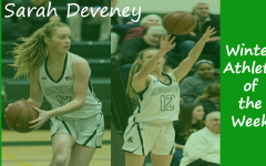 Sophomore Girls Basketball player Sarah Deveney is highlighted as a Winter Sports Athlete of the Week.