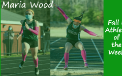 Junior Winter Track & Field member Maria Wood is highlighted as a Fall II Sports Athlete of the Week.