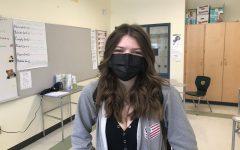 Abington High School junior Megan McCann on Wednesday, May 12, 2021.