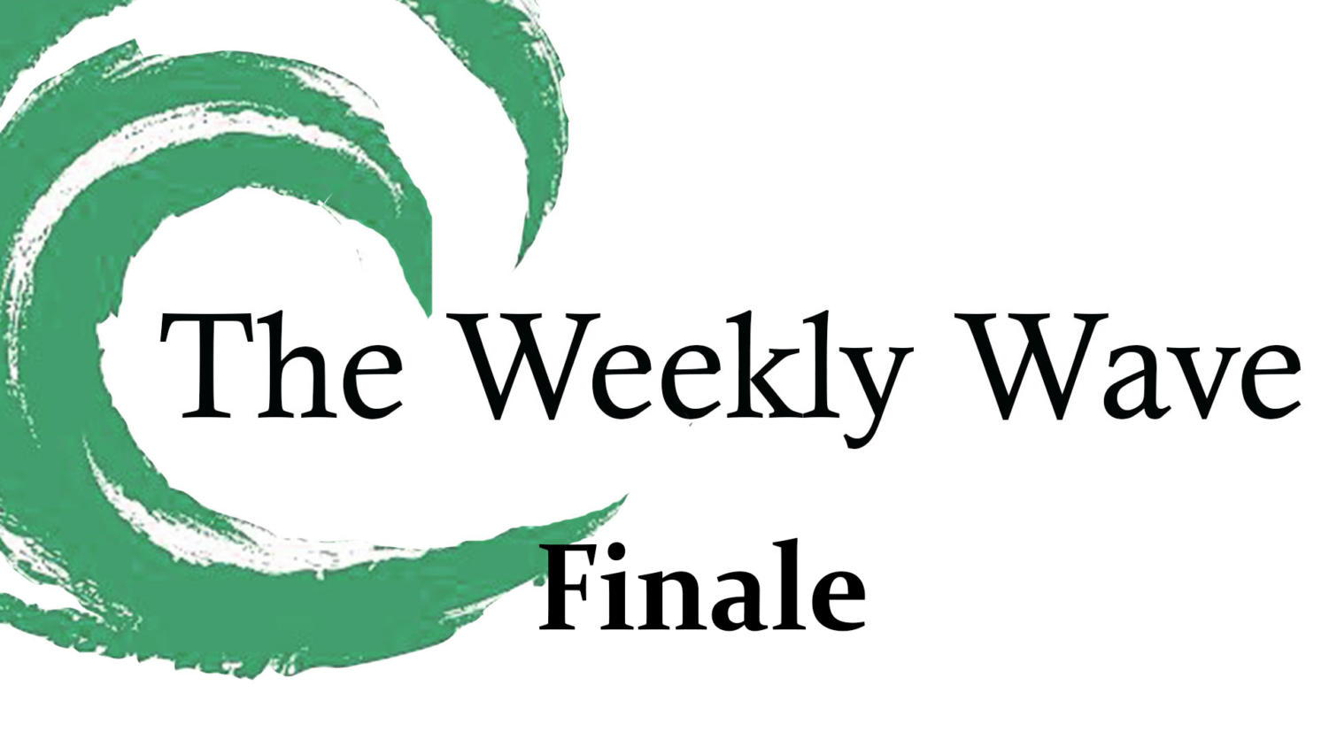 """The Season 3 Finale of """"The Weekly Wave"""""""