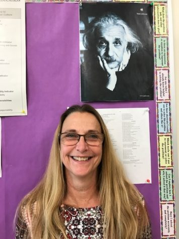 Ms. Salvetti celebrates her final week in her classroom.